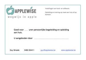 Voucher Applewise